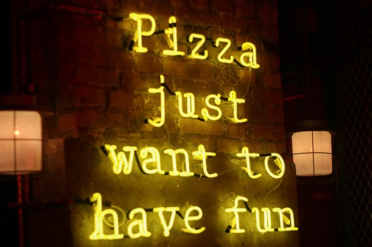 pizza just want to have fun