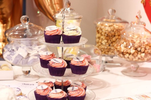 presentation cupcakes