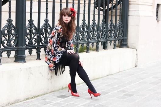 tenue escarpins rouges