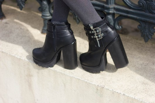 chunky rock boots