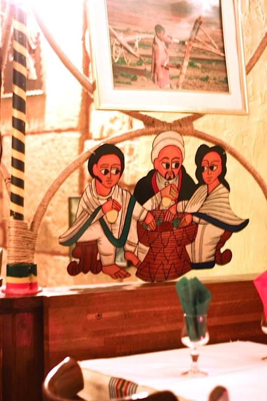 décoration ethiopienne