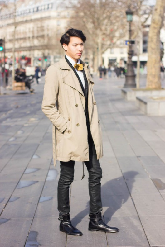 look trench homme