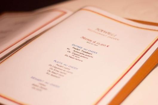menu restaurant haweli