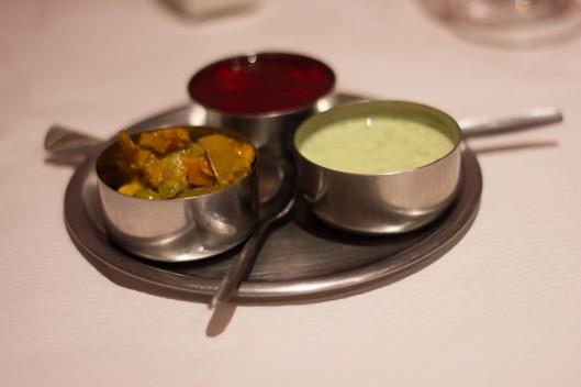 sauces restaurant indien