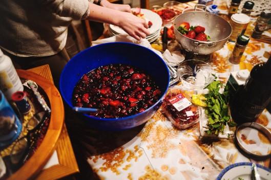 soupe fruits rouges