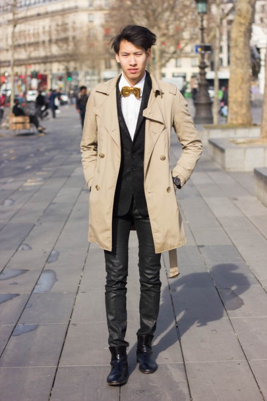 tenue trench homme