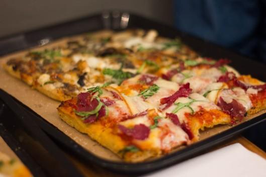 très bonne pizza